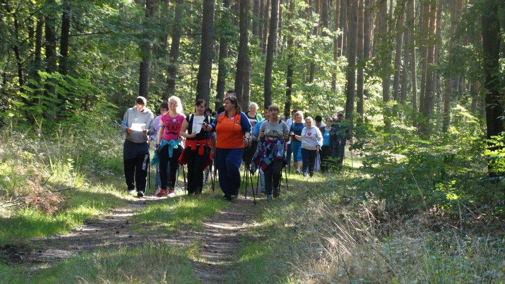 Nordic Walking - spacer po zdrowie 25.09.2015